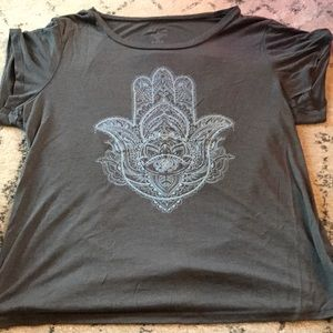 Tops - Cute Hamsa T-Shirt
